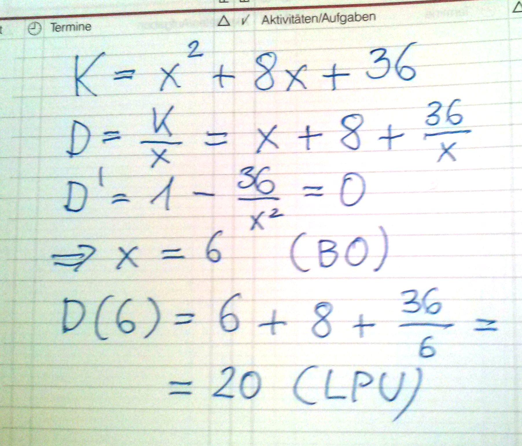 Verwertung Seite 2 Mathematik Mit Maxima Und Geogebra