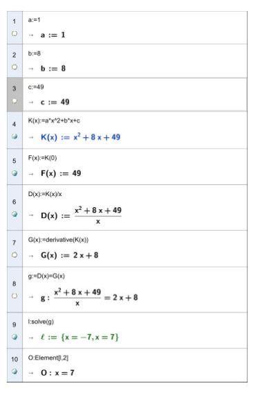 Betriebsoptimum   Mathematik mit CAS Maxima und Geogebra