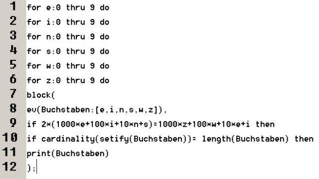 nummerierter-programmcode